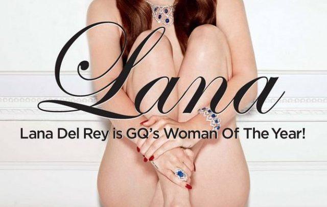 Lana Del Rey posa nuda per GQ UK!