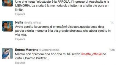 Photo of Neffa vs Emma Marrone, attacco su twitter