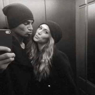 Selfie Ascensore Melissa Satta e Prince Boateng